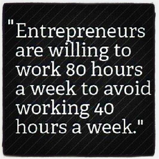 Entrepreneurs and working full time jobs