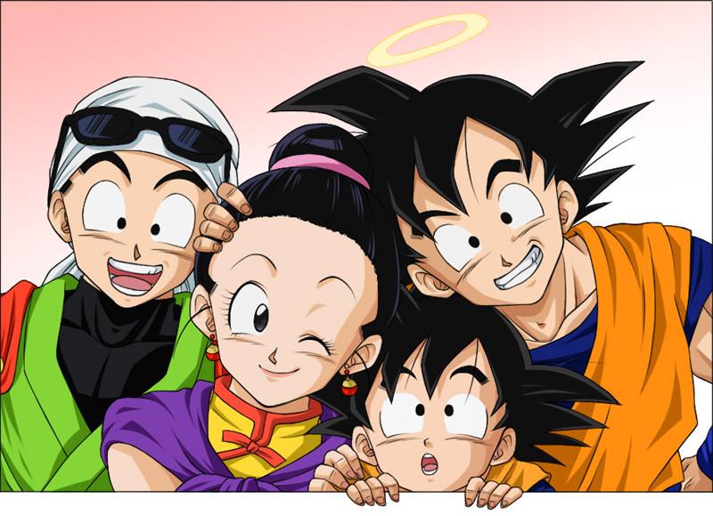 Dragon Ball Z Characters Gohan And Goku