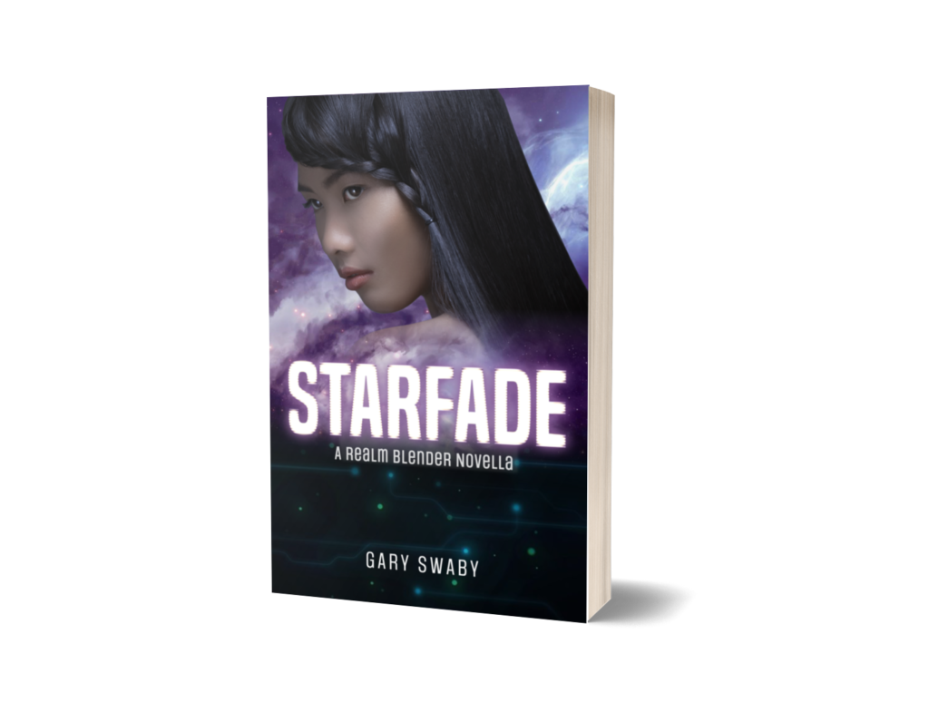 My novella Starfade is a spacepunk story about a hacker for hire